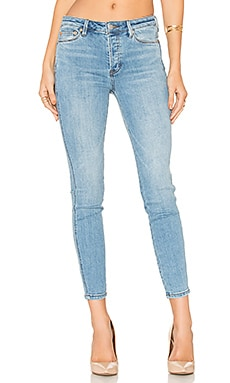 Payton Hi Rise Skinny Jean in Light Denim