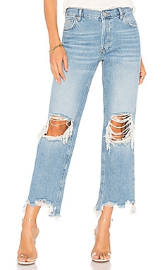 Maggie Straight Jean Free People $77 BEST SELLER