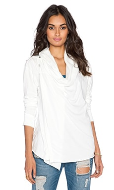 Free People Bond Cardigan in Ivory