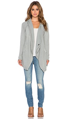 Free People The Big Chill Cardigan in Vintage Green