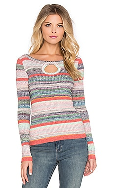 Free People Sunshine Daydream Sweater in Multi Combo