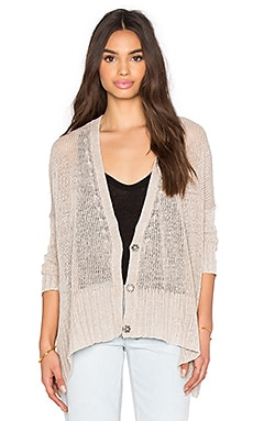 Free People Vee Vee Cardi in Sand