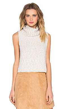 Free People Little White Lies Top in Oatmeal