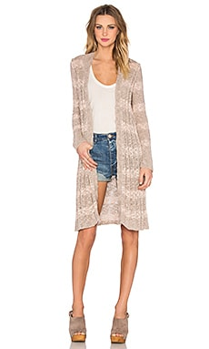 Free People Free Spirit Cardi in Almond Combo