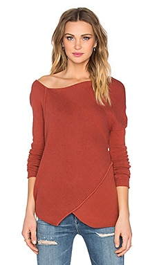 Free People Love & Harmony Sweater in Sunset