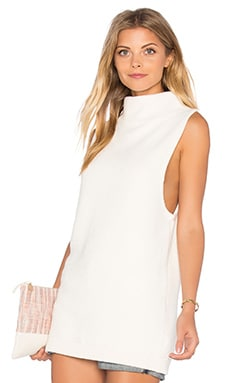 Ottoman Tunic Top in Ivory