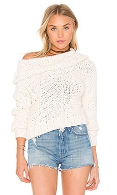 Anemone Beach Sweater in Ivory