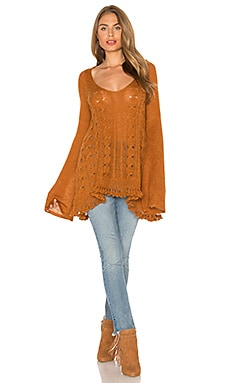 Waterfall Sweater in Honey
