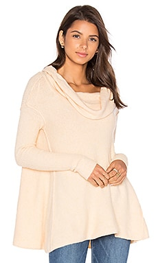 Free People Strawberry Fields Sweater in Cream