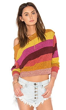 Candyland Pullover in Yellow Combo