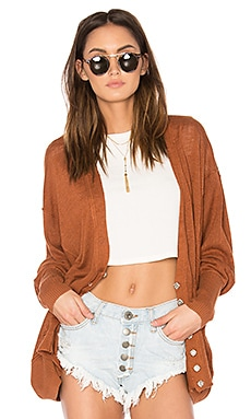 Days Like This Cardi in Brown