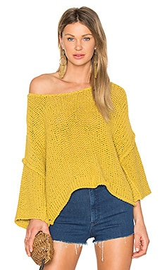 Halo Pullover in Gelb