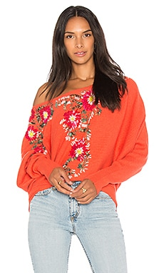 Bouquet Pullover Sweater