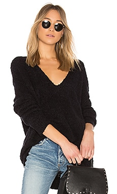 Lofty V-Neck Pullover Sweater