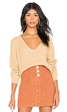 High Low V Sweater Free People $64