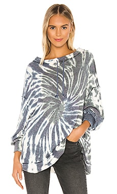 Best Catch Tie Dye Tee Free People $108 NEW ARRIVAL