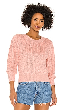 Villa Cable Pullover Free People $71