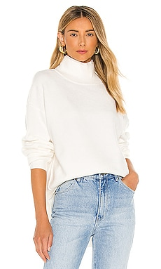Afterglow Mock Neck Sweater Free People $128 NEW