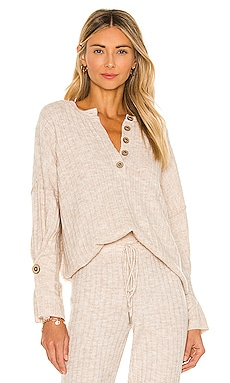 JERSEY AROUND THE CLOCK Free People $78