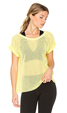 T-SHIRT MAILLE FILET HOT STUFF