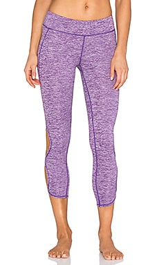 Free People Infinity Legging in Heathered Violet