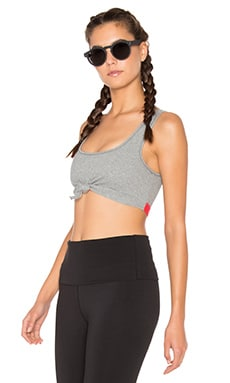 Free People Flashdance Crop in Grey Combo
