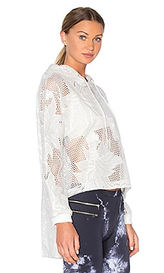 Free People Spring Fling Bomber in White