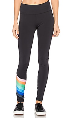 Rainbow Runner Legging en Black Combo