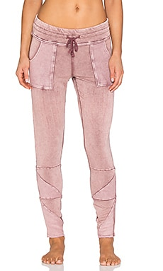 Free People Kyoto Legging in Washed Rust