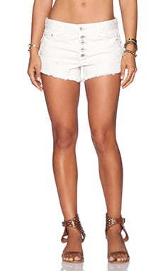 Free People Shark Bite Short in Polar White