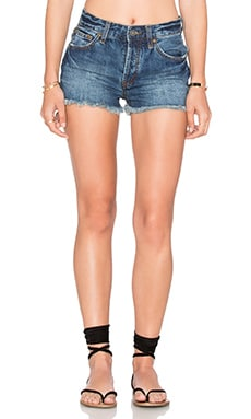 Rock Denim Uptown Short in Harbor