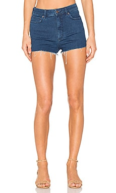 High & Tight Cut Off Shorts in Blue