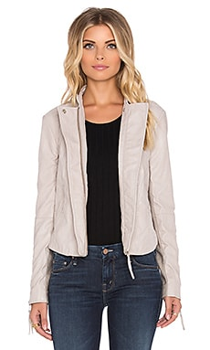 Free People Clean Vegan Jacket in Bone