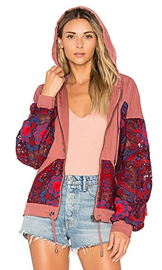 Magpie Oversize Lacey Jacket