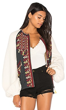 Two Faced Embroidered Jacket