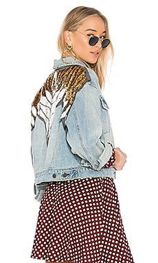 Glam Embellished Denim Jacket