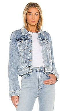 aa1e405409b08 Rumors Denim Jacket Free People  98 BEST SELLER ...