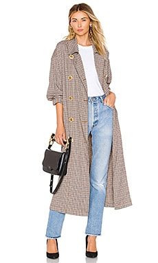 Melody Menswear Trench Coat Free People $160