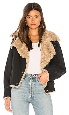 Owen Faux Fur Sherpa Jacket Free People $178