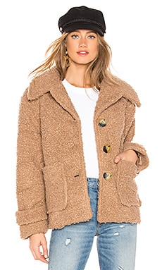 So Soft Cozy Peacoat Free People $148