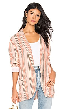 VESTE SIMPLY STRIPE Free People $64