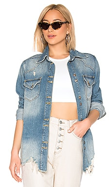 BLOUSON MOONCHILD SHIRT Free People $84
