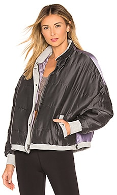 Movement Zamo Varsity Jacket Free People $118
