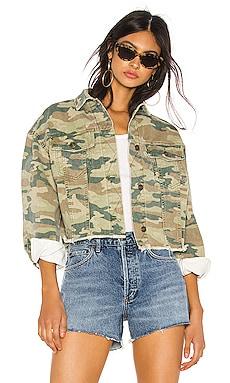 Camo Printed Denim Jacket Free People $65