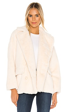 Solid Kate Faux Fur Coat Free People $148