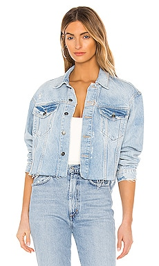 Amelia Slouchy Trucker Jacket Free People $98