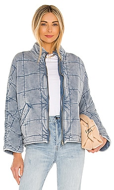 Dolman Quilted Knit Jacket Free People $198 BEST SELLER