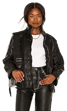 Dolman Quilted Vegan Leather Jacket Free People $198