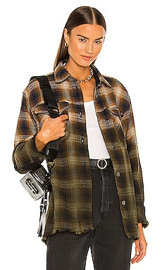 Anneli Plaid Shirt Jacket Free People $168 BEST SELLER