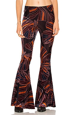 PANTALON EN VELOURS FLOAT AWAY